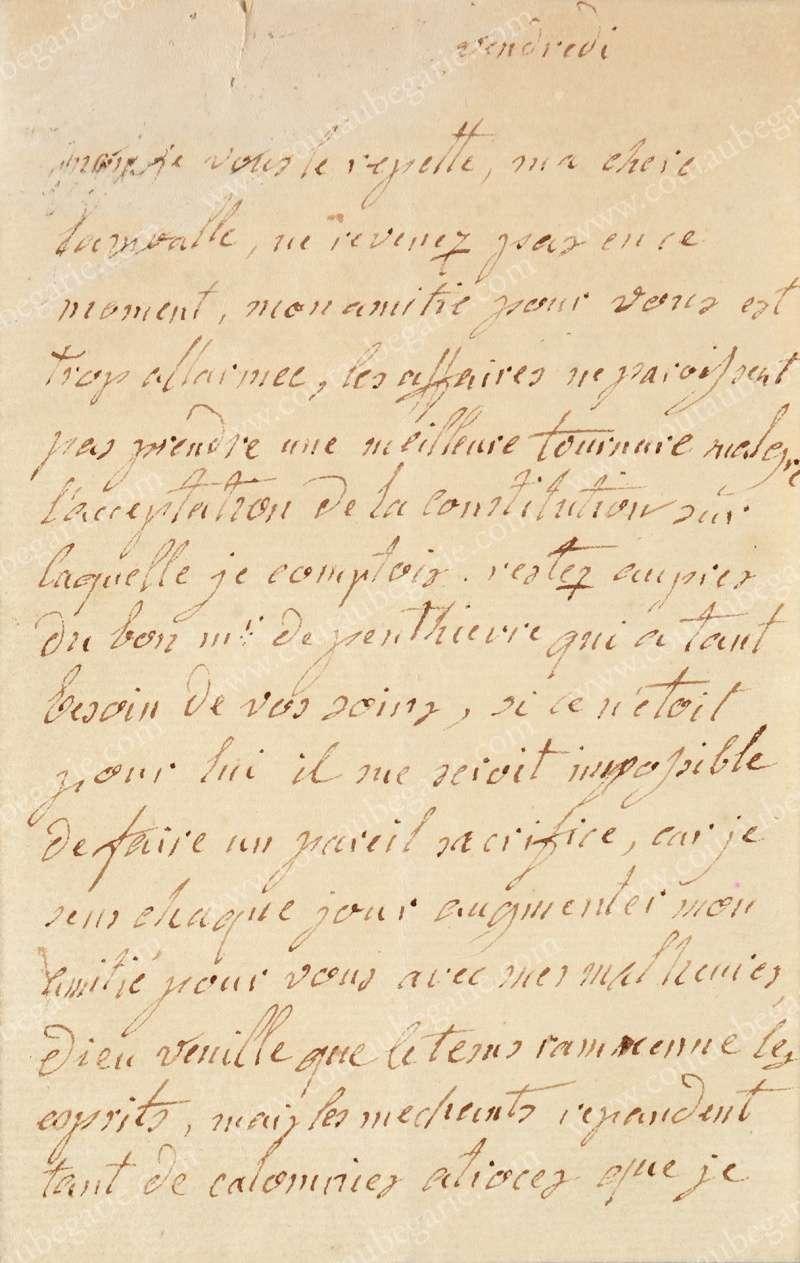 Vente de Souvenirs Historiques - aux enchères plusieurs reliques de la Reine Marie-Antoinette - Page 3 14468215