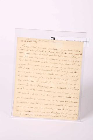 Lettre de François I, père de Marie Antoinette 17174710
