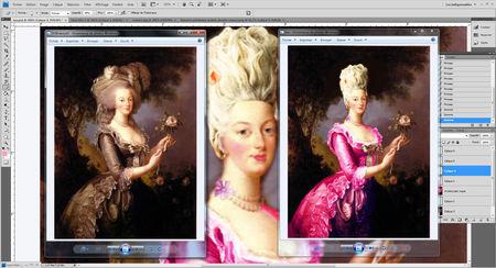 Variations sur le portrait à la rose 56070610