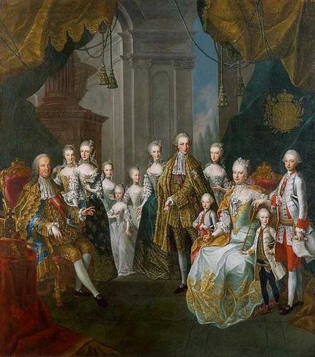 La famille Impériale par Meytens - Page 2 Zmarie13