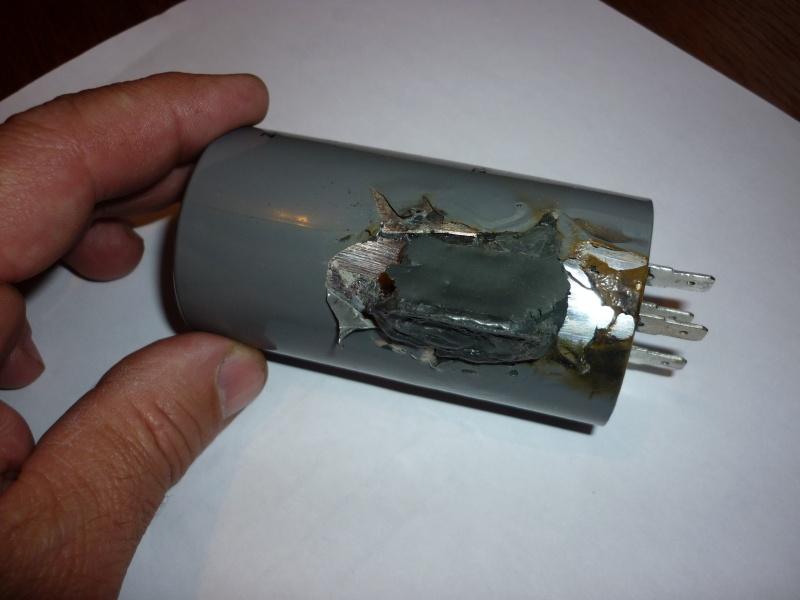 condensateur grillé sur bestcombi 260 P1030413