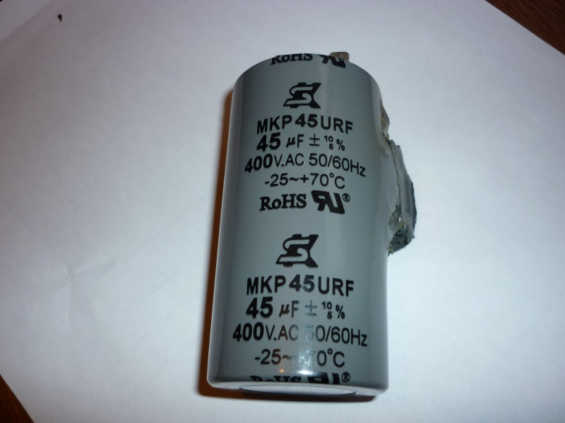 condensateur grillé sur bestcombi 260 P1030414