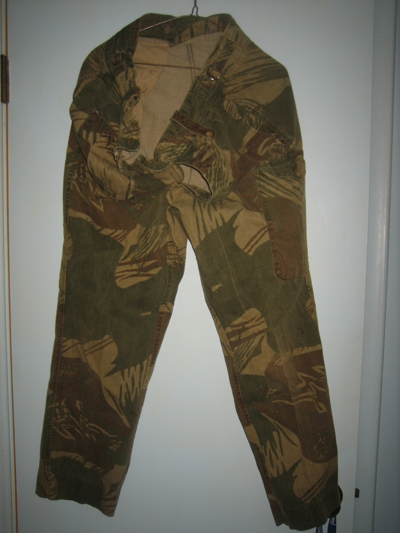 Rhodesian cap and trousers Trouse10