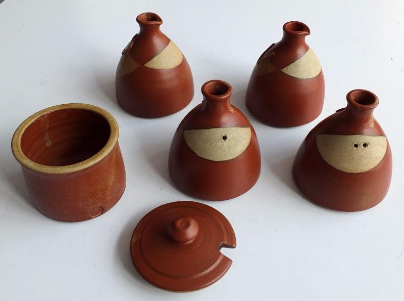 ID on 5 piece thrown stoneware condiments set 5_piec10