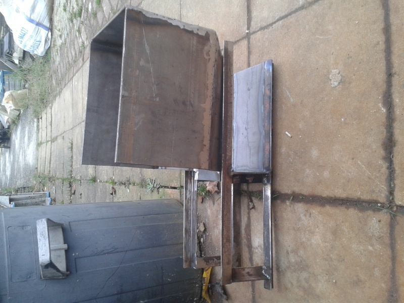 new rocket stove build 20151111