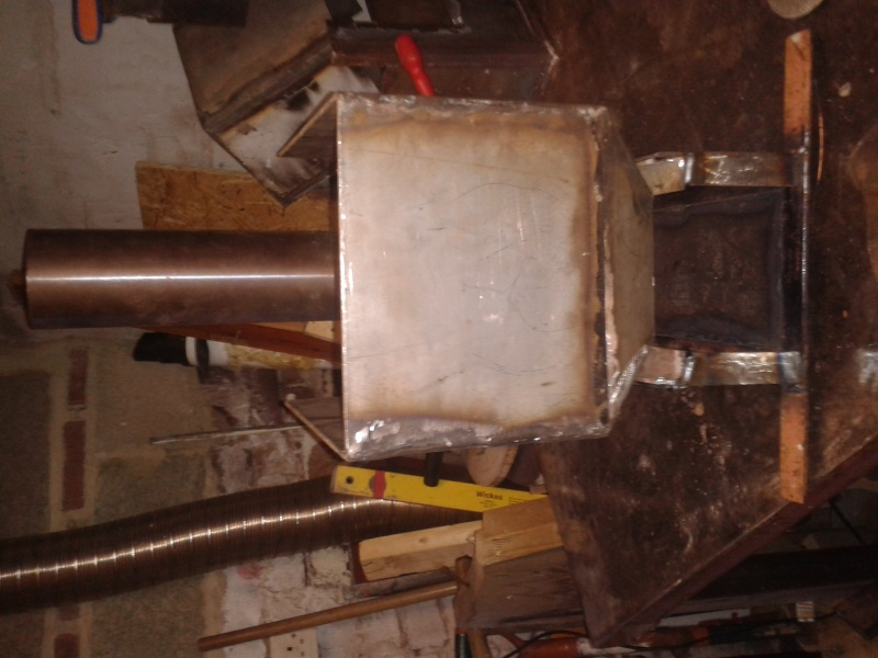 new rocket stove build 20151113