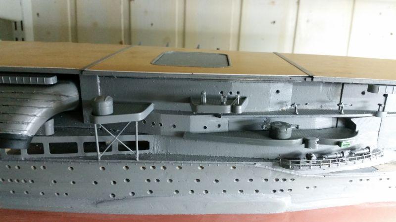 JPN Flugzeugträger AKAGI1:250 von DE AGOSTINI gebaut von Arrowsmodell - Seite 5 20151016