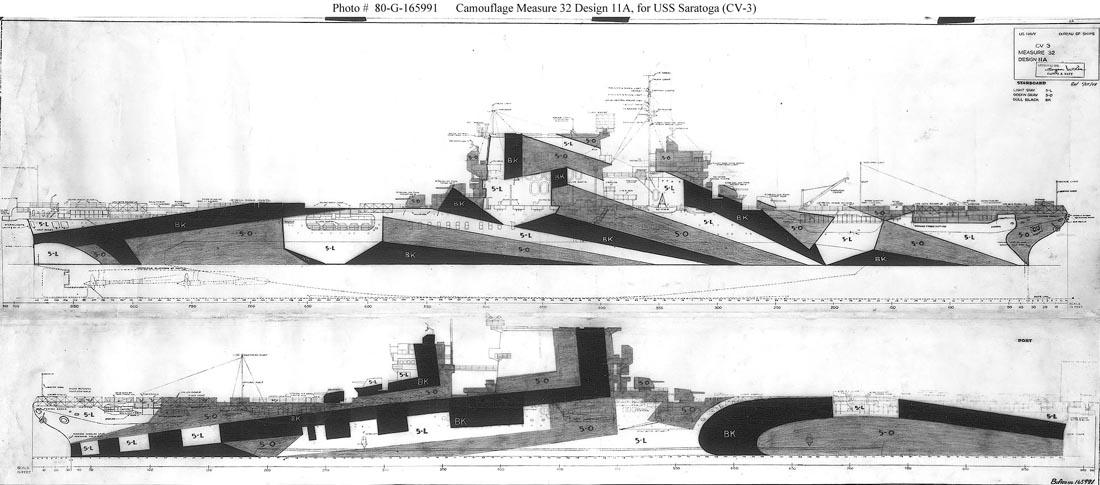 Saratoga tamiya 1/700 PE+Pont en bois par lionel45 - Page 3 Uss_sa11