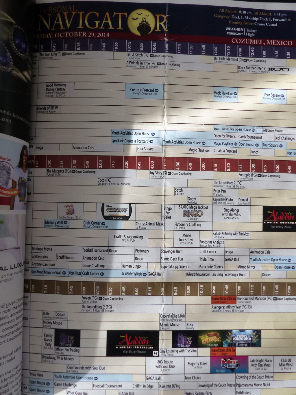 [Halloween 2018] Universal Studios, Disney Cruise Line dans les caraïbes et Gatorland - Page 8 P1190118