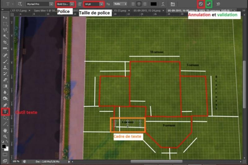 [Apprenti]Tracer le plan de sa maison en utilisant la grille du jeu Cote10