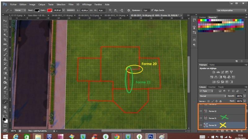 [Apprenti]Tracer le plan de sa maison en utilisant la grille du jeu Destru10