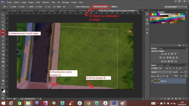 [Apprenti]Tracer le plan de sa maison en utilisant la grille du jeu Dysinc11