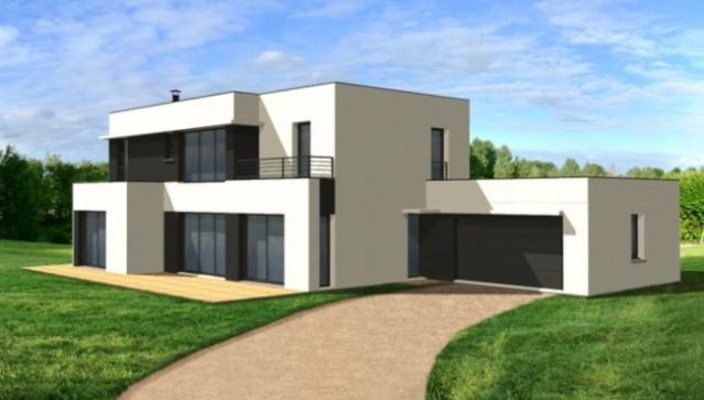 [Apprenti]Construire une maison moderne et/ou semi contemporaine Maison10