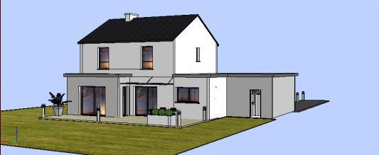 [Apprenti]Construire une maison moderne et/ou semi contemporaine Maison12