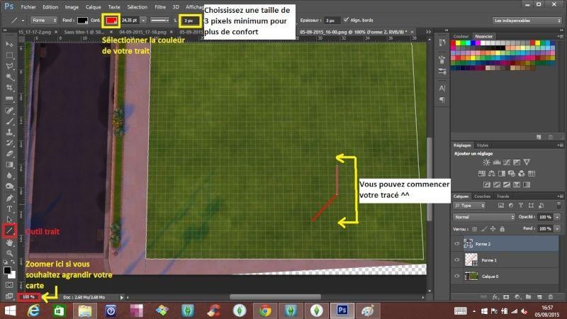 [Apprenti]Tracer le plan de sa maison en utilisant la grille du jeu Outil_12
