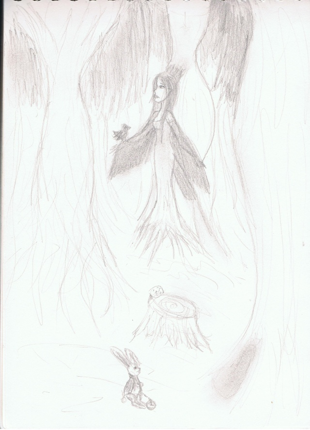 quelques dessins... Foret010