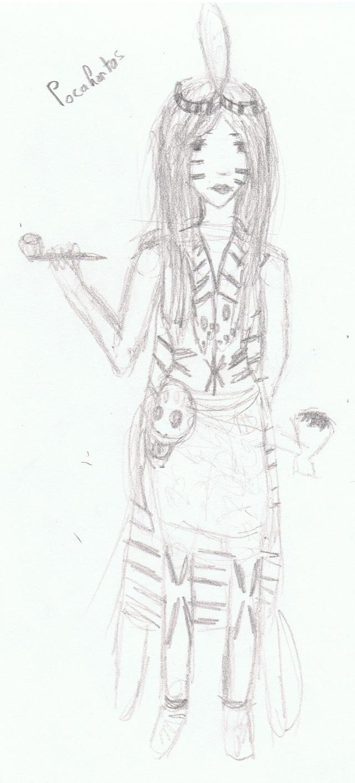 quelques dessins... Pocaho10