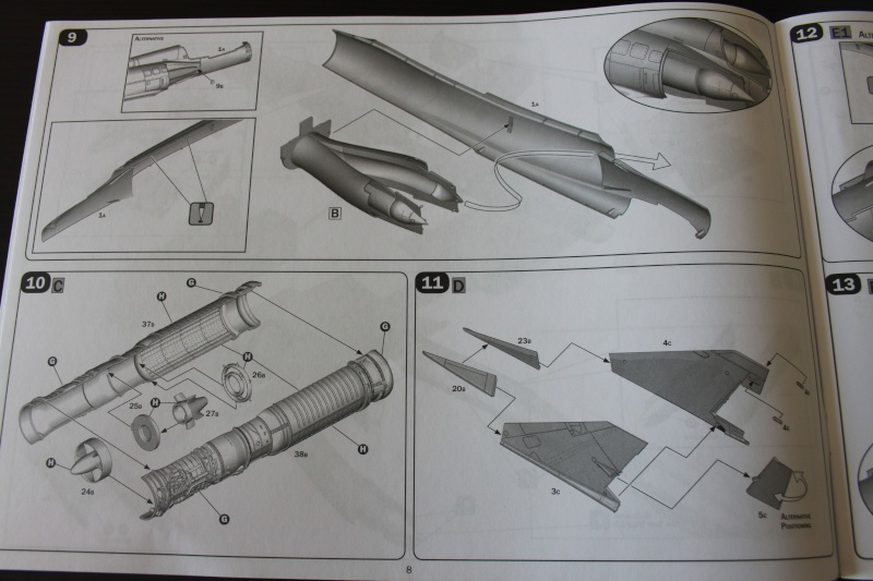 Dassault Mirage III C Italeri 1/32 Img_0020
