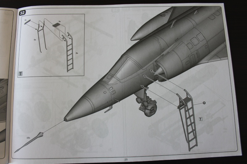 Dassault Mirage III C Italeri 1/32 Img_0037
