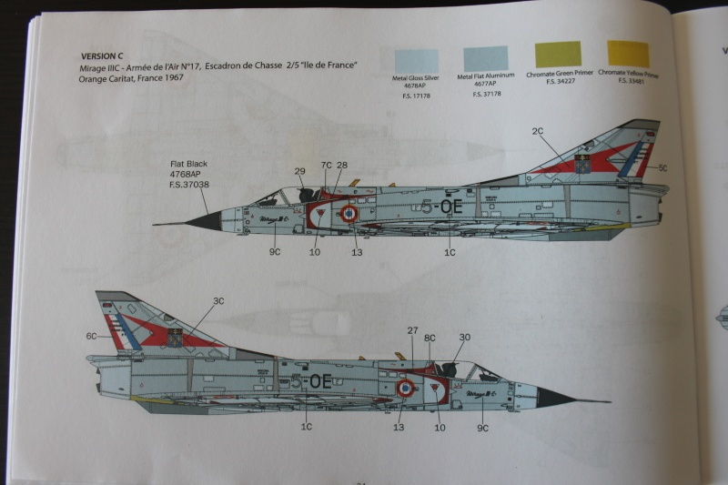 Dassault Mirage III C Italeri 1/32 Img_0046