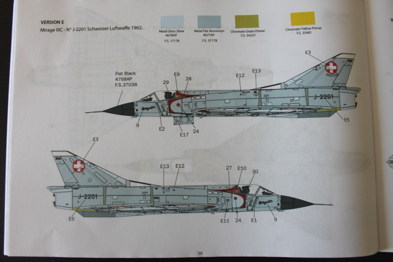 Dassault Mirage III C Italeri 1/32 Img_0050
