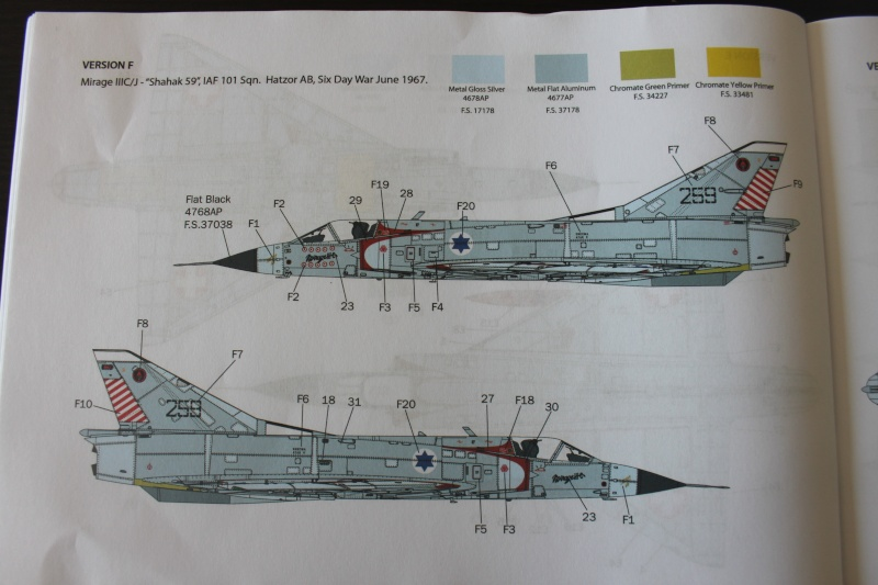 Dassault Mirage III C Italeri 1/32 Img_0052