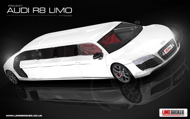 la R8 Limo Audi-r10