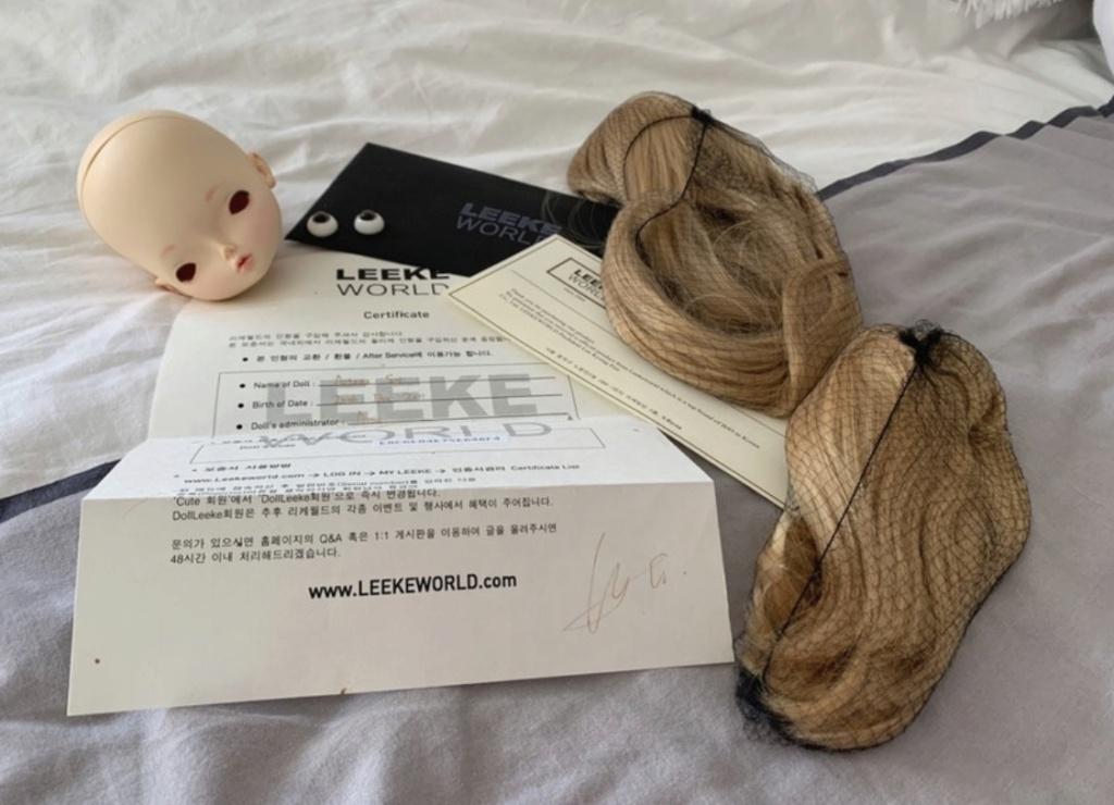 [V]Tete arianna Leekeworld 60 euros à saisir !  Fe35b810