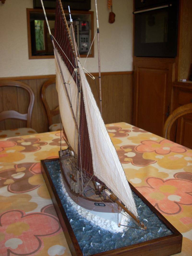 Dio : Thonier Marie-Jeanne en mer (Artesania Latina 1/50°) par chtanou Dscn1318