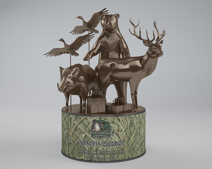 [CONCLUSA] Competizioni Ufficiali theHunterItaly - CHRISTMAS MARSHY - Multispecie Rougarou Bayou Bro19