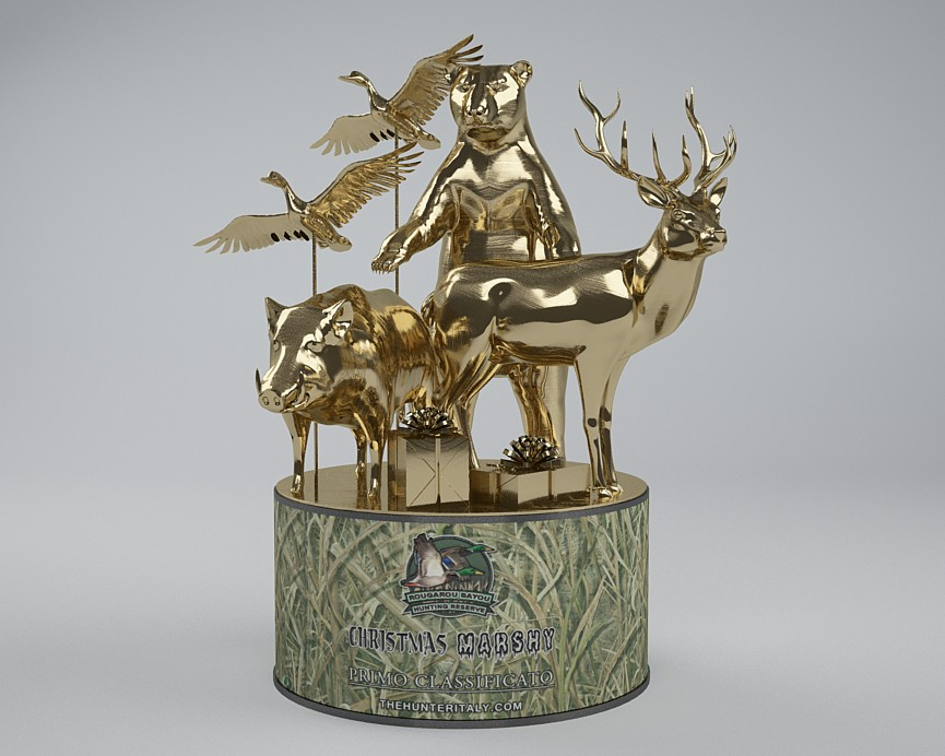 [CONCLUSA] Competizioni Ufficiali theHunterItaly - CHRISTMAS MARSHY - Multispecie Rougarou Bayou Oro20