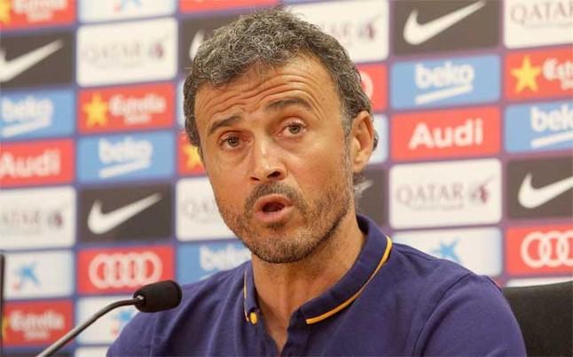 """لويس انريكي :""""سوف نستمر فى طريقتنا ولا نغيرها بسبب الاصابات """" Luis-e10"""