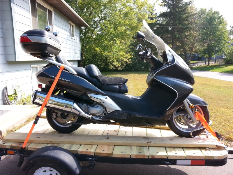 transporting silverwing Scoote10