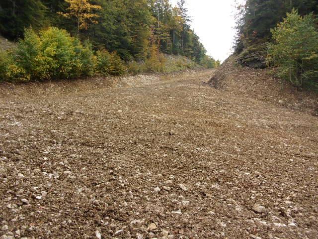"""Travaux de la piste """"Le Boulevard"""" au Col de Rousset 12088510"""