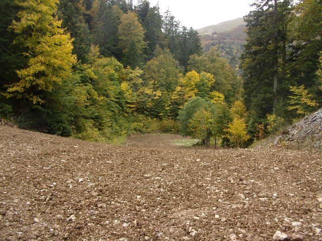 """Travaux de la piste """"Le Boulevard"""" au Col de Rousset 12115710"""