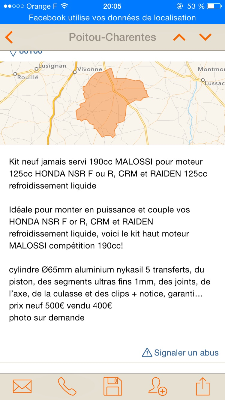 Kit 180 malossi d'occasion Neuf avis  Image23