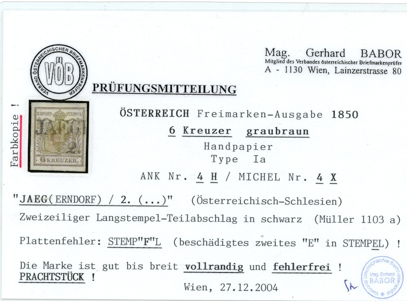 Die erste Österreichische Ausgabe 1850 - Seite 7 Ank_4_12