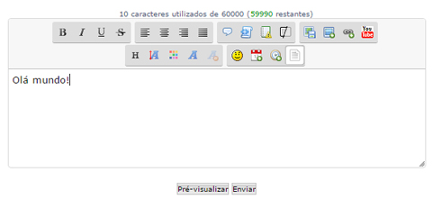 Contador de Caracteres no SCeditor Plugin10