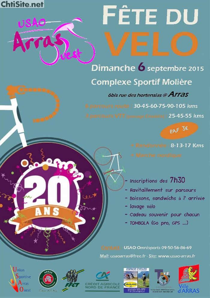 20ième fête du vélo de l'USAO Cyclo à Arras ( 62 ) 20iyme10