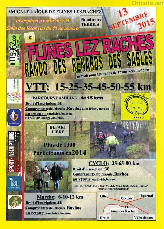 Rando des Renards des sables 2015 à Flines-lez-Raches ( 59 ) Rando-10
