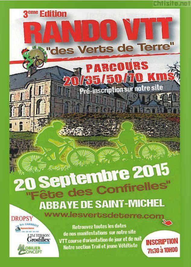 Rando des Confirelles 2015 à Saint-Michel ( 02 ) Rando-12