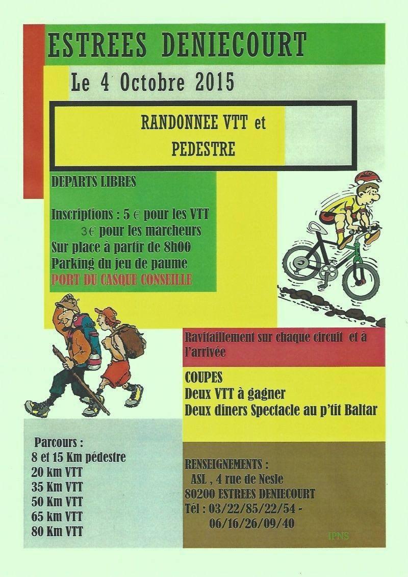 Rando VTT et Marche 2015 à Estrées-Deniécourt (80) Rando-13