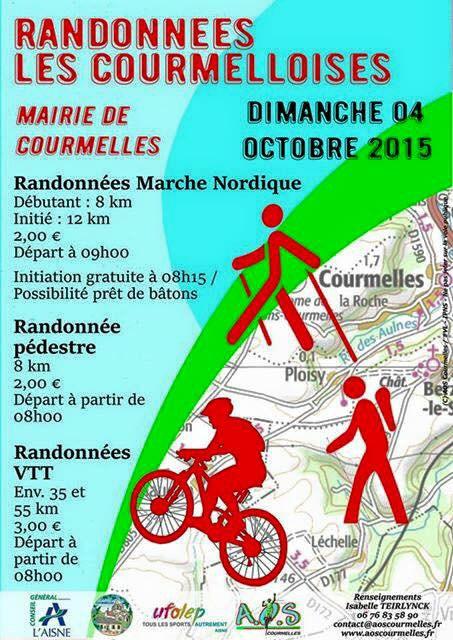 Randonnées les Courmelloises 2015 à Courmelles (02) Randon10