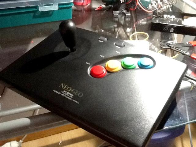 Mod des boutons d'un stick Neo Geo en Sanwa Img_0010