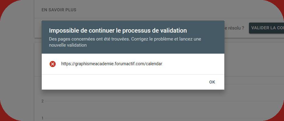 Problème erreur de la search console Image755