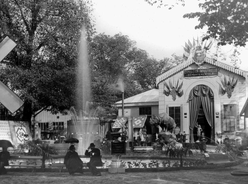 LE VOYAGE D'UN RHINOCÉROS DE NANTES A PARIS 1886-e10