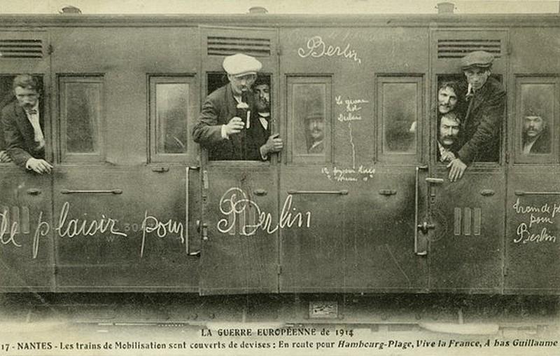 L'ENTREE DANS LA GUERRE 1914-n10