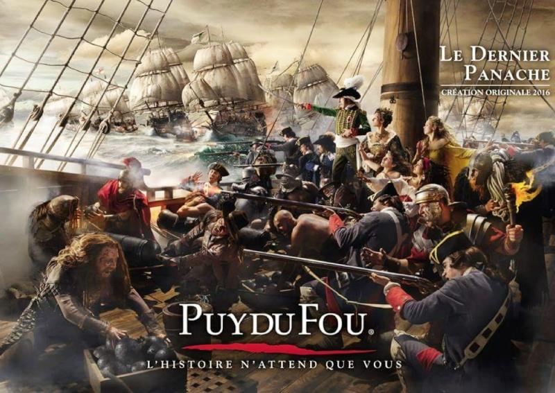 """Puy du Fou : Bande-annonce """"Le Dernier Panache"""" 10646410"""