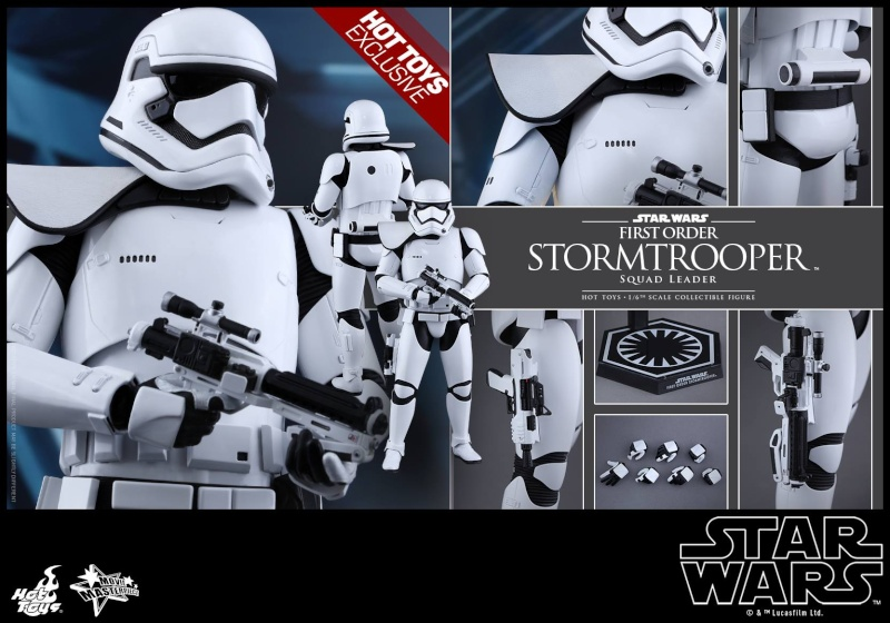 Hot Toys Star Wars First Order : Stormtrooper Squad Leader 11888110