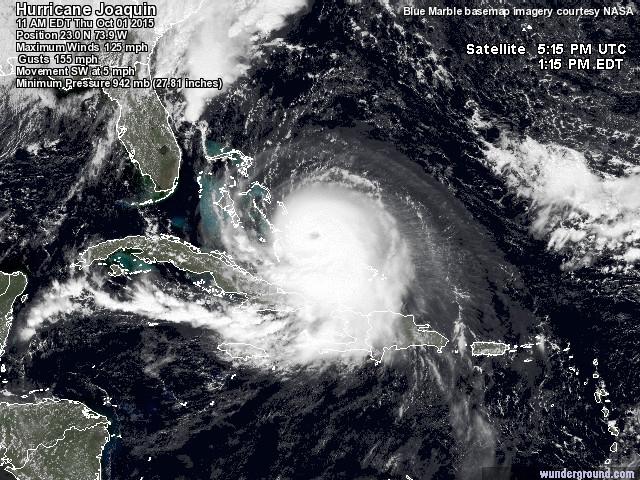 Joaquim, hurricane catégorie 4 ! At201510